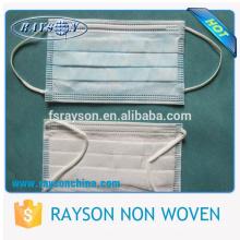 Ruixin Günstigen Preis Sanitär Non Woven Medical Einweg Gesichtsmaske