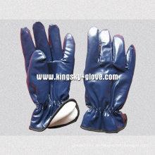 Nitril laminierter voller Acrylstapel-Winter-Handschuh-5403. Bl