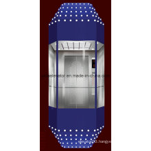 SGS Approved Sightseeing Elevator (diamond type)