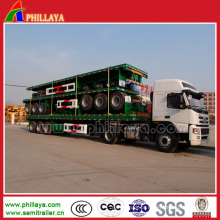 40ft recipiente de transporte Cimc mesa contêiner reboque
