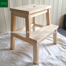 High Quality Wooden Step Stools Made of Acacia