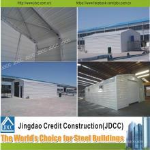 Garage de voiture de fabrication en acier de construction