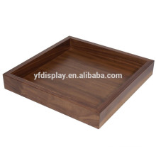 Solid Wood Rectangle Serving Tea Tray