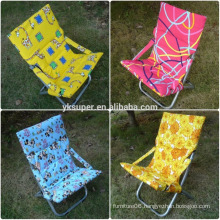 Folding reclining beach chair Sun chair for colorful adjustable 5-position