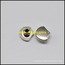 Fashion Alloy Jeans Rivet in Nickel Color