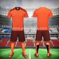 Wholesale cheap price soccer jersey kits Top quality men dry fit men soccer jersey football jersey sets