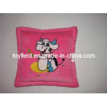 Plush Cuddle Stuffed Cow Pillow Push Cushion