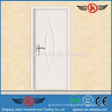 JK-P9064 Interior White Gross PVC MDF Kitchen Cabinet Doors