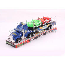 33CM com 2 carros menores impressos Tractor caminhão de reboque carros de fricção