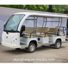 Carro elétrico do recurso do passager 23 / carro elétrico sightseeing do ônibus / turista com porta