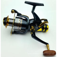 Smoothly Bait Runner spinning Fishing Reel Front and Rear Drag System