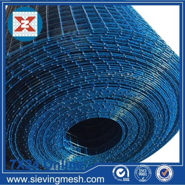 Wire Mesh Welded Coated PVC Biru