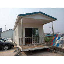 El mejor modelo residencial de la casa del chalet del acero prefabricado