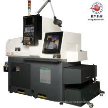 BS203 трубонарезной токарный станок с ЧПУ 3-осевой стенд кровать типа CNC горизонтальный токарный Центр/токарный центр для Индии