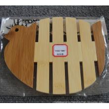 (BC-M1005) Handmade Natural Bamboo Pigeon Shape Heat Insulation Mat