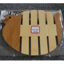 (BC-M1005) Ручная натуральная бамбуковая голубь Форма Теплоизоляция Мат
