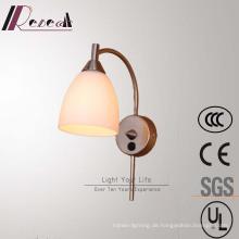 Moderne einfache Hotel dekorative Messing Nachttischlampe Wandleuchte