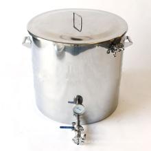 Aço inoxidável Brewing Mash Tun