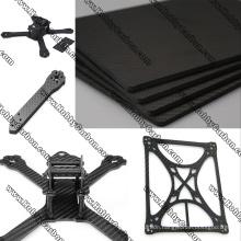 Custom thickness full 3k carbon fiber sheet carbon fiber plate