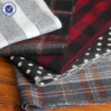 2015 New Autumn and Winter wool plaid scarf SWW829 thick pure wool scarf wholesale