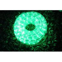 Свет веревочки СИД 2wires зеленый