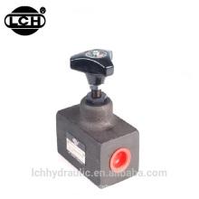 presión proporcional y válvula de control de flujo yuken