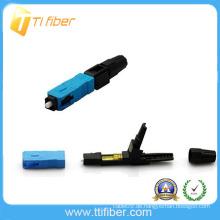(Faser-Kabelabschluss schnell, einfach und zuverlässig) Schnellspleiß-Steckverbinder, Schnellverbinder, LWL-Steckverbinder