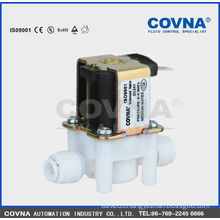 Small-size direct acting diaphragm solenoid valve