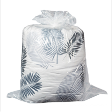 Wholesale High Quality Customized Moistureproof Clear large  packaging plastic bag reusable bags for home