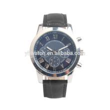 Reloj de cuarzo analógico de los hombres, reloj de liquidación barato