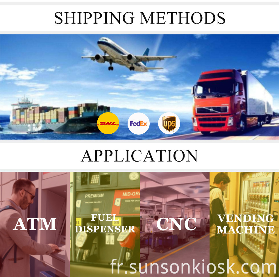 shipping & application