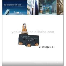Ascenseur Micro Switch Z-15GQ21-B, interrupteur de fin de course ascenseur, commutateur d'ascenseur
