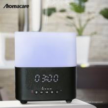 Decoración de Navidad 2018 Luz de la Noche Bluetooth Altavoz Aroma Difusor Excelente Diseño Difusor de Aceite de Madera Grano 300 ml Humidificador