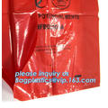 autoclavable ldpe medical biohazard waste plastic trash bags, biohazard waste bags medical waste bag, eco-friendly biohazard bag