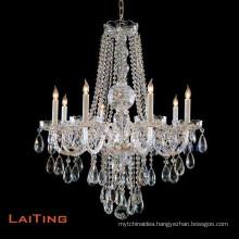 Home decoration pendant light grass crystal light