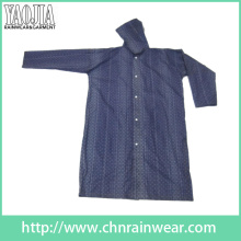 Yj-6207 EVA Designer Stylish Dark Blue Raincoats Boys Lightweight Rain Gear