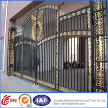Portão de entrada de ferro forjado de alto nível