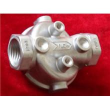 A liga de alumínio do OEM morre carcaça para as peças ADC12 do alojamento de filtro