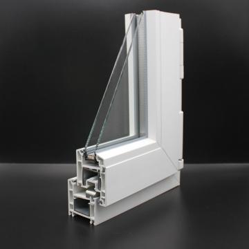 Fenêtres finies en uPVC de haute qualité