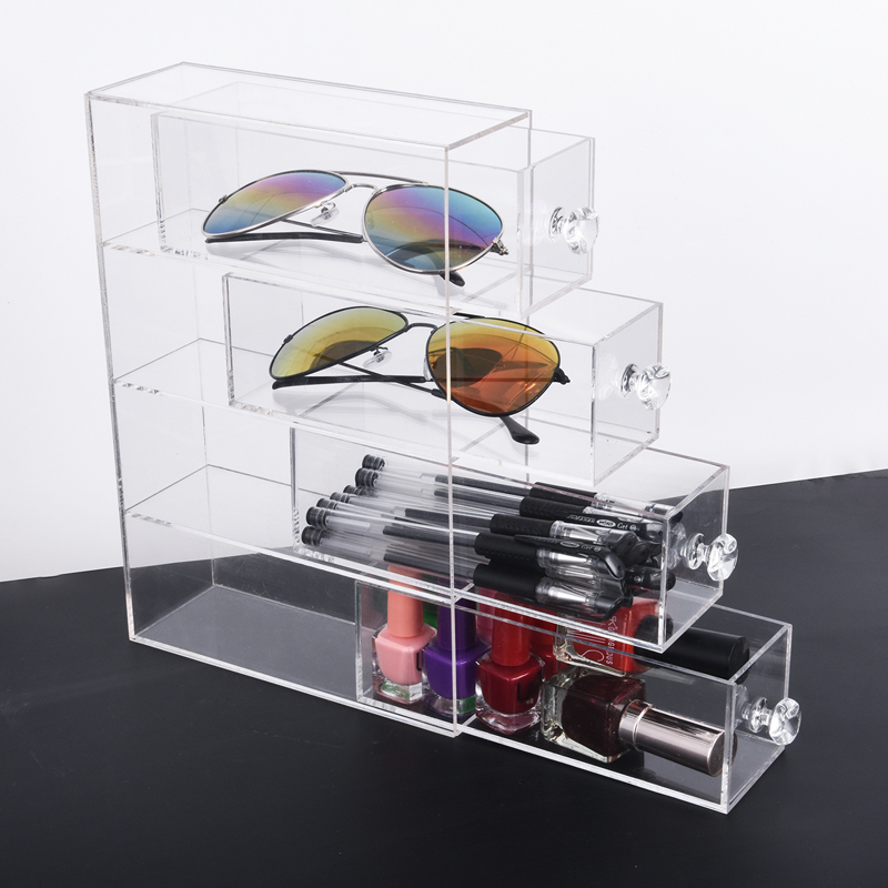 Glasses organizer box