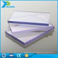 Garantie décennale matériaux de construction 18mm fabricants de feuilles en polycarbonate à vendre