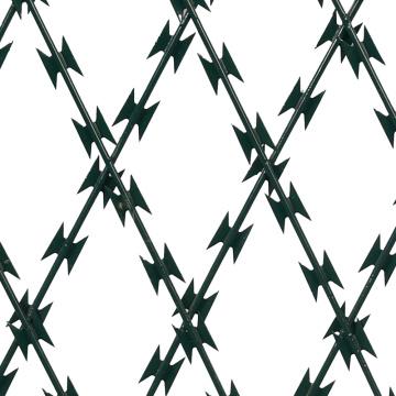Alambre de púas de acero inoxidable y alambre de púas