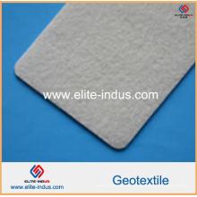 Geotextil de perforación de aguja de alta resistencia PP blanco
