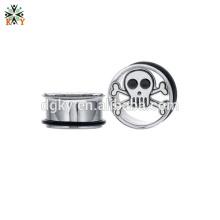 Ear piercing hoops Stainless Steel Flared Plugs