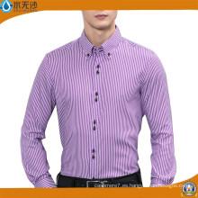 2017 camisa formal de los hombres camisas de algodón italianas del vestido