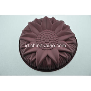 Eco-friendly Silicone Mould Sunflower Pan Party Baking Tool