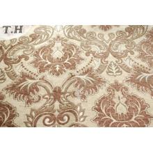 Tissu de tapisserie d'ameublement adapté aux besoins du client de sofa de polyester 100%