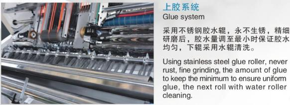 ZGFM series Automatic high speed flute laminating machine 2