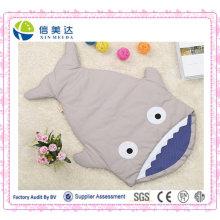 Saco de Dormir Softy para Dormir / Saco de Dormir Tubarão