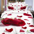 2016 Flower Printed 4PCS Bed Sheet Set
